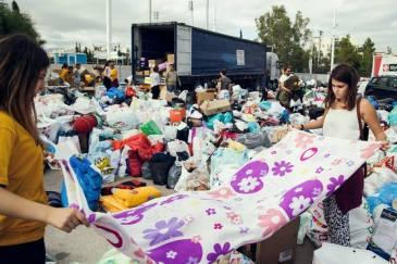 Taxibeat ja Metadrasi pakolaistempaus Kreikassa